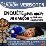 French verbs / Verbes au présent / Lire et dessiner