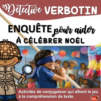 French Verbs// Verbotin: Traditions de Noël