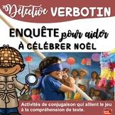Noël français  / French Christmas Worksheets / Verbes