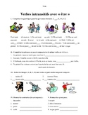 French Verbs using être and vocabulary development