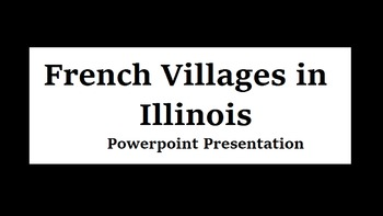 French Villages in Illinois