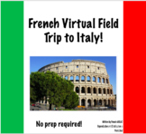 French Virtual Field Trip to Italy! | Excursion virtuelle
