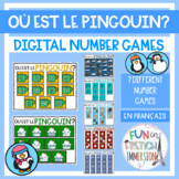 French Virtual Number Games - Où est le pingouin?