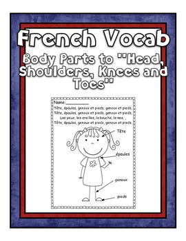French Vocab - Body Parts