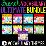 French Vocabulary Activities ultimate BUNDLE