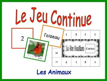 French Animals Activity for Groups, Inventive Twist on Memory