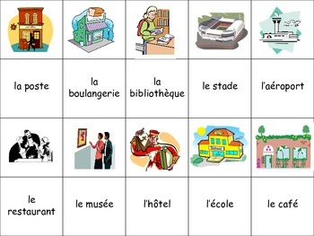 French City Location Activity for Groups, Inventive Twist on Memory