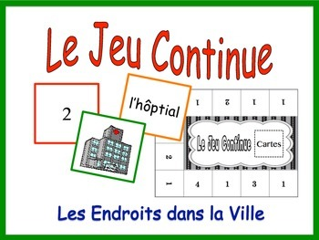 French City Location Activity for Groups, Inventive Twist
