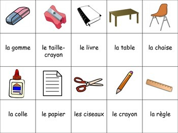 French Classroom Vocabulary Activity for Groups, Inventive Twist on Memory