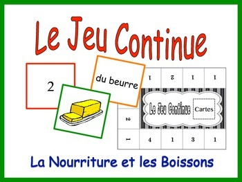 French Food and Drink Activity for Groups, Inventive Twist on Memory