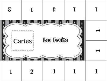 French Fruit Activity for Groups, Inventive Twist on Memory