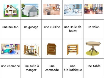 French Furniture Activity for Groups, Inventive Twist on Memory