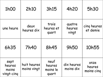 French Time Activity for Groups, Inventive Twist on Memory