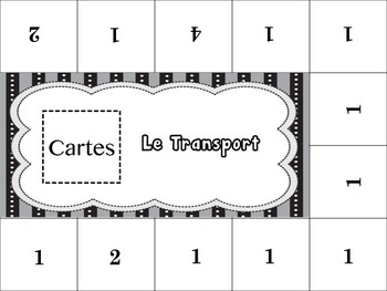 French Transportation Activity for Groups, Inventive Twist on Memory