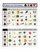 French Fruits and Vegetables Speaking Activity: Playing Cards, Groups