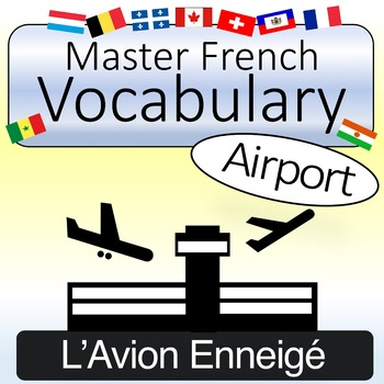 French Vocabulary - Airport Words (with Quizlet & KAHOOT)