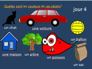 French Vocabulary BELLWORK Bundle Set 1