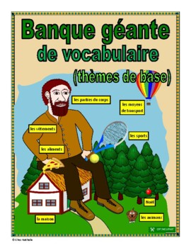 French Vocabulary Bank (2,000+ words)
