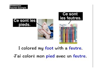 French Vocabulary Builder Using Mnemonics (mems)