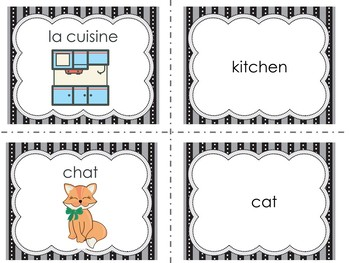 French Vocabulary French Words French Activity French Game
