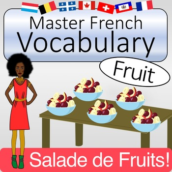 French Vocabulary - Fruit (with Quizlet & KAHOOT)