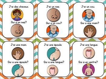 French Vocabulary Game BUNDLE - J'ai. . . Qui a. . .?  (thèmes variés)
