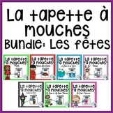 French Vocabulary Game BUNDLE - Tapette à mouches (les fêtes)