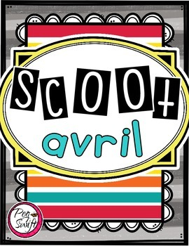 French Vocabulary Game - SCOOT avril