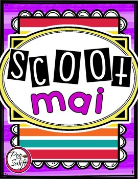 French Vocabulary Game - SCOOT mai