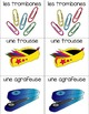 French Vocabulary Games- School Supplies