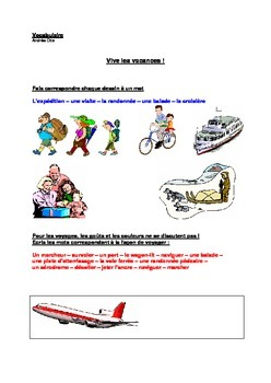 French Vocabulary: Holidays