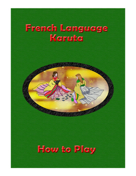 French Vocabulary Karuta (CARD GAME)