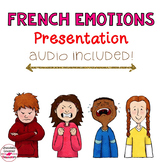 French Vocabulary PowerPoint Presentation – Emotions / Les Emotions