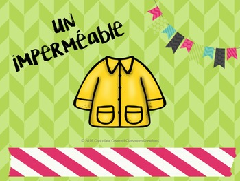 French Vocabulary PowerPoint Presentation – Spring Clothing