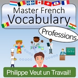 French Vocabulary - Professions and Careers (with Quizlet & KAHOOT)