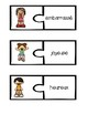 French Vocabulary Puzzles - Emotions