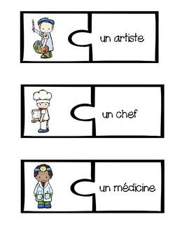 French Vocabulary Puzzles - Mini Bundle