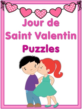 French Vocabulary Puzzles  Saint Valentin
