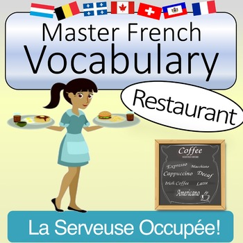French Vocabulary - Restaurant Words (with Quizlet & KAHOOT)