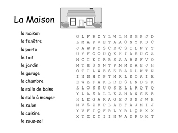 French Vocabulary Word Search Bundle