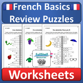 French Vocabulary Review