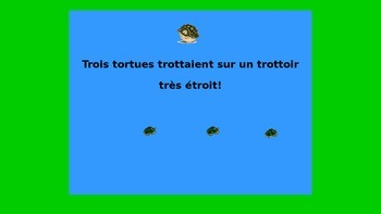 French Teaching Resources. Warmer/ Starter Activity: Tonguetwisters!