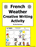 French Weather Creative Writing Activity - 6 Speech Bubbles