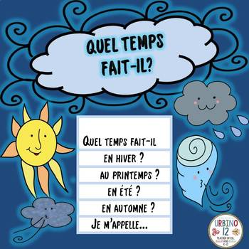 French: Weather  Flipbook Project