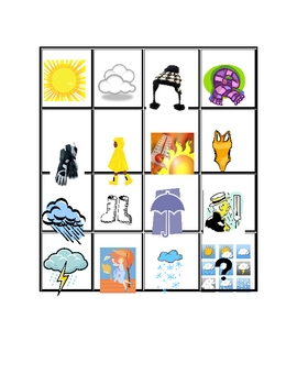 French Weather Game and Activity Set Quel temps fait-il?