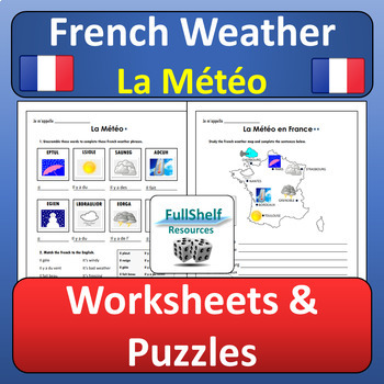 French Weather (La Meteo) BUNDLE