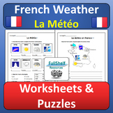 French Weather Worksheets (La Meteo)