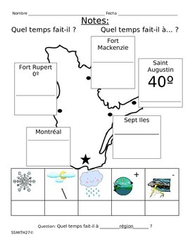 """Quel temps fait-il?"" : French Weather"