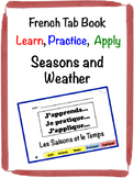 French Weather Tab Book