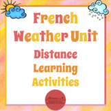 French Weather Unit - Distance Learning Activities